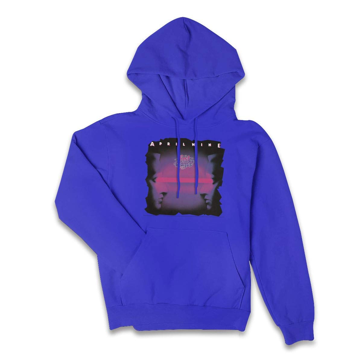 Erman S Color Name Athletic April Wine Band Pullover Hooded Shirts With Pocket S
