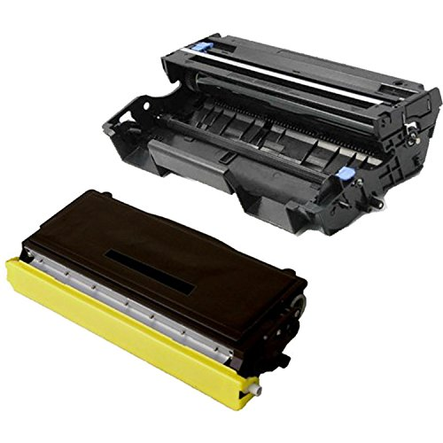 KCMYTONER Compatible Replacement for Combo Set (1 Toner + 1 Drum) TN570 DR510 Use with Brother DCP-8040 DCP-8045D HL-5140 MFC-5150DLT Printers