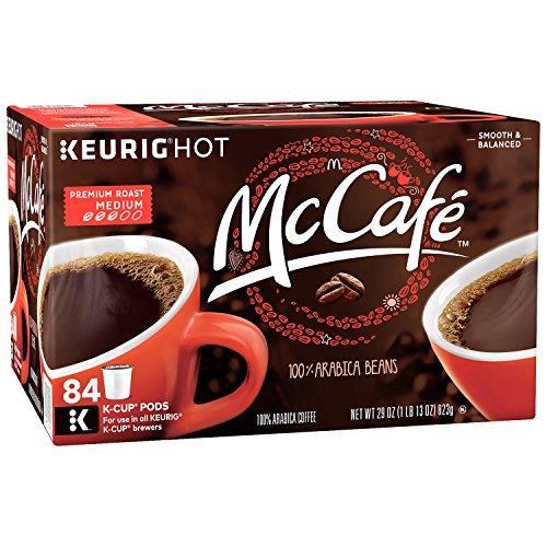 McCafe Premium Roast Keurig K Cup Coffee Pods (84 Count)