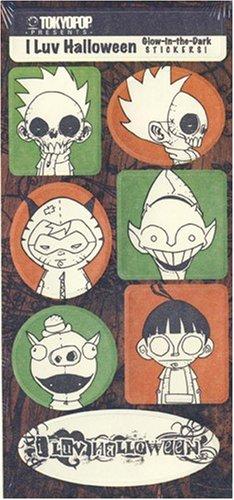 I Luv Halloween - Sticker Set -
