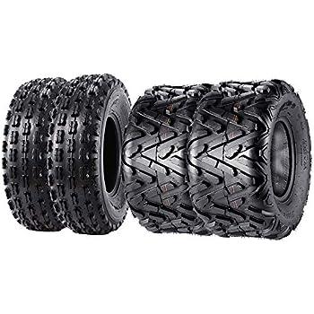 22x7-10 22x7x10 ATV front tires set Honda TRX 250X 300X 400X 250R 2