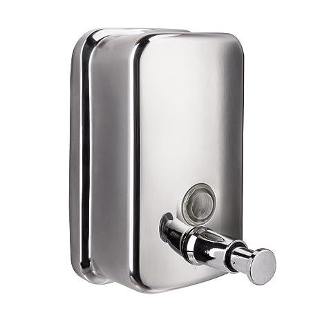 Dispensador de jabón acero inoxidable Peralng® cuarto de baño o cocina Manual caja de jabón
