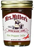 amish made jelly - Mrs. Miller's Amish Made Hot Pepper Jelly 9 Ounces - 2 Pack