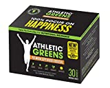Athletic Greens Premium Green Superfood Cocktail - Complete Greens Powder Greens Supplement herbal extracts Alfalfa chlorella spinach grape seed extract for superior health - 30 Day Travel Packs