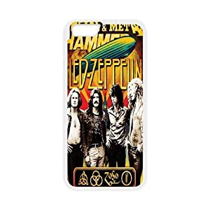 "Led Zeppelin Band Poster Hard Plastic phone Case Cover For Apple Iphone 6 Plus,5.5"" screen Cases FAN219105"