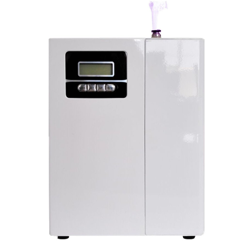 Kevinleo Scent Fragrance Machine Home with 860-1,100 Sq Area House,Waterless,Deliver Fragrance in Office,Nebulizer for Set up certain work time(Monday-Sunday),Connect to Hvac unit,12V Plug Wall Socket