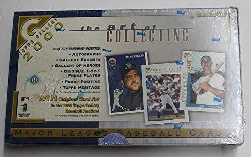 2000 Topps Gallery Baseball MLB Cards Sealed Hobby Box 47073r54
