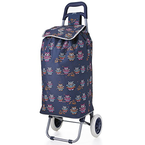 hoppa-23-lightweight-wheeled-shopping-trolley-hard-wearing-light-weight-polyester-rolling-push-troll