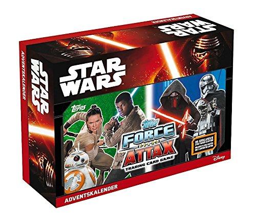 Star Wars Adventskalender 2016 Topps - Force Attax - Erwachen der Macht - Kinofilm