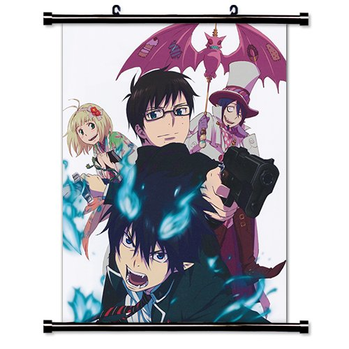 (Blue Exorcist Anime Fabric Wall Scroll Poster (16 x 20) Inches.)