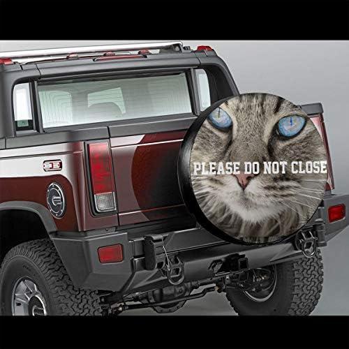 スペア タイヤ カバー タイヤ 収納 保管カバー Please Do Not Close 車用 14 Inch