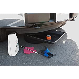 Performance Tool W4072 Black Extra Large Portable 7.5 Gallon Oil Drain Pan, (28.4 L)