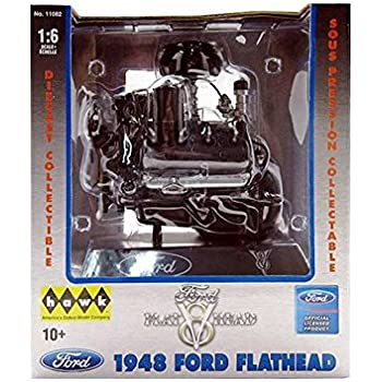 Amazon Com Hawk 1 6 Scale Ford Flathead V8 Engine Diecast Replica