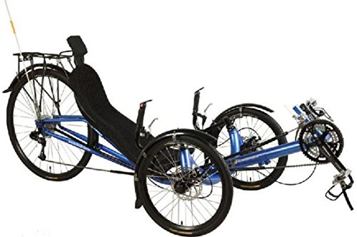 Performer JC70 Recumbent Trike (27S, FRP seat)