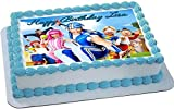 Lazy Town Edible Cake Topper & Cupcake Toppers - 7.5 x 10 (1/4 sheet) rectangular