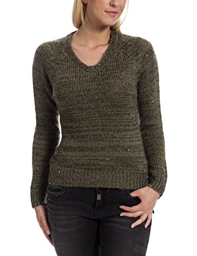 Timezone 18-6037-Jersey Mujer, verde (urban olive 4178)