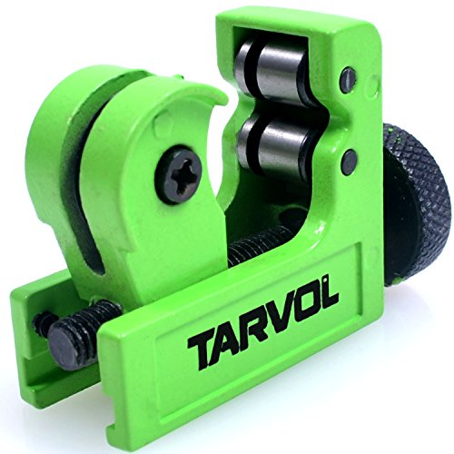 Mini Pipe & Tube Cutter (HEAVY DUTY INDUSTRIAL GRADE) Adjustable Tubing Cutter Diameter of 3-22MM (1/8 to 55/64 Inches) - Perfect for Cutting Copper, Aluminum, Brass, PVC, Steel, Plastic, and More! (Cutters Tube)