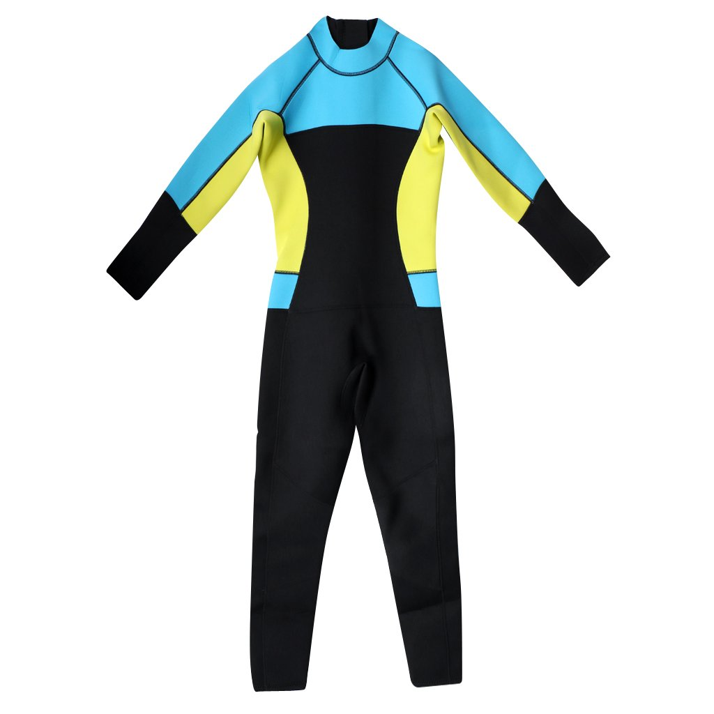 Amazon.com  Jili Online Soft Womens Wetsuit - 3mm Neoprene Full Body Warm Wet  Suit e0bda2048