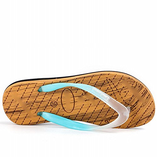Simples Sandalias Personalidad Antideslizante Verano de Clip B Casual Zapatillas pies Sandalias Ocio de AN de Playa wx01XSqxf6