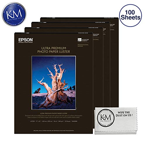 Photo Luster Premium Paper - Epson Ultra Premium Photo Paper Luster 17 x 22