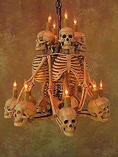 Amazon.com: Skull Chandelier w/ 12 Skulls: Home & Kitchen