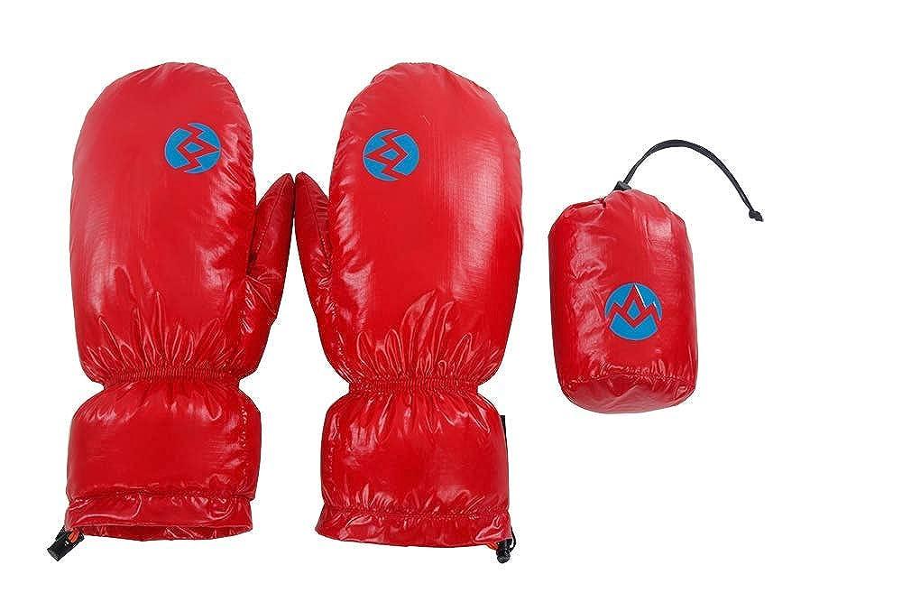 AEGISMAX 95% Goose Down Gloves, Winter Down Mitten Gloves, Snow Gloves, Freesize, Unisex Unisex (Black)