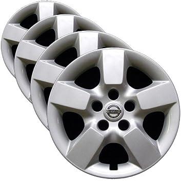 OEM Nissan rueda – juego de funda nórdica (fábrica de repuesto tapacubos para 2008 –