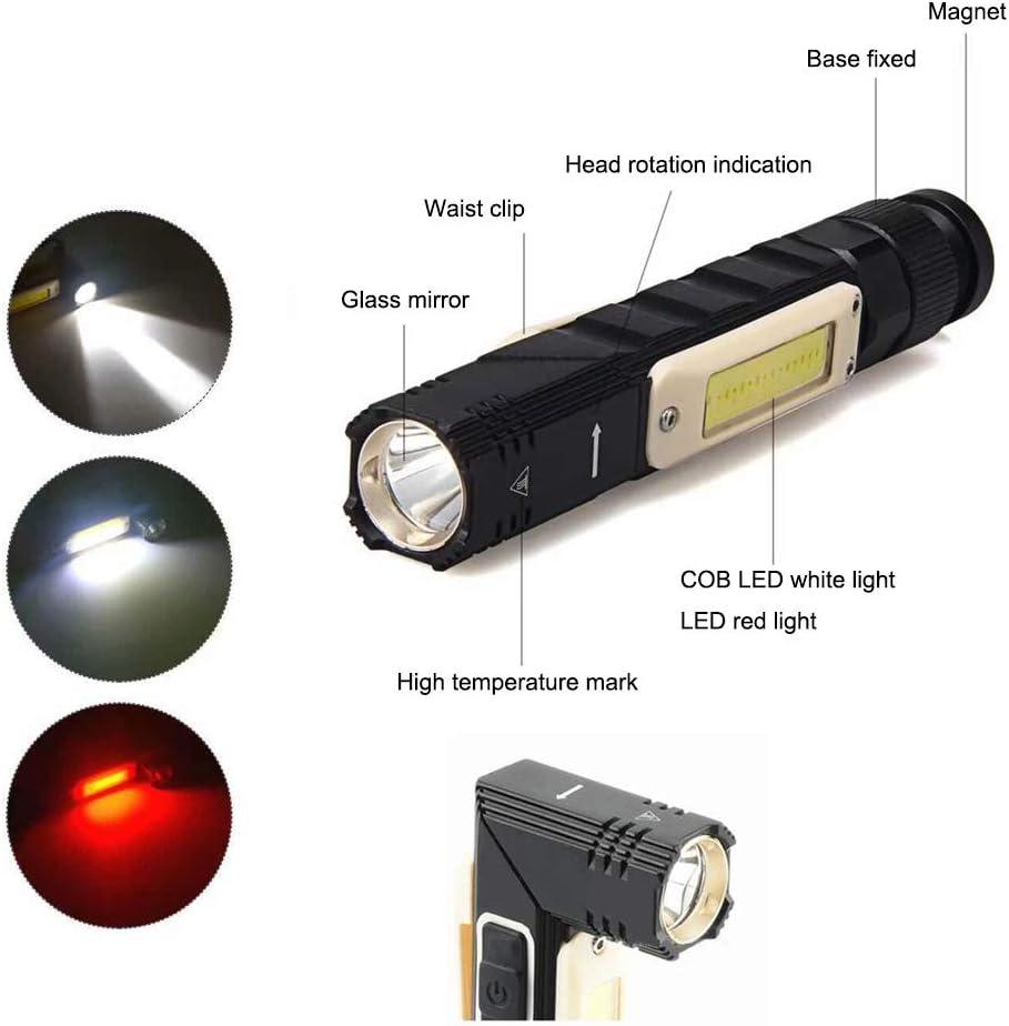 Portable Flashlight 3 in1 Emergency LED Magnetic Base 29 LED Light Emergency Kit