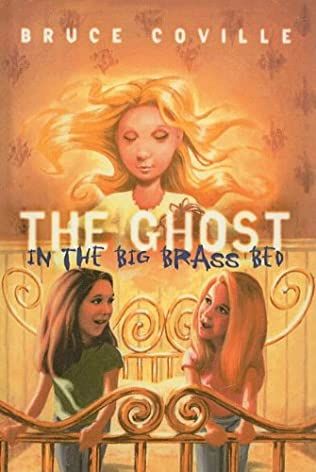 book cover of The Ghost in the Big Brass Bed
