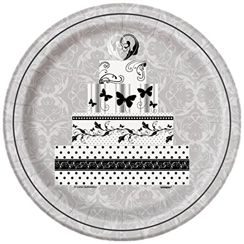 Victorian Wedding Dinner Plates, 8ct -