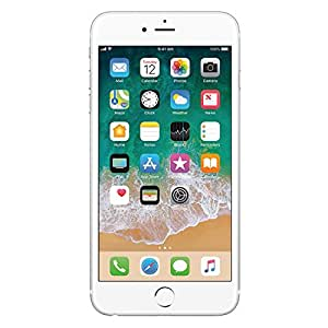 Apple iPhone 6 Celular 16 GB Color Plata Desbloqueado (Unlocked) Reacondicionado (Refurbished)