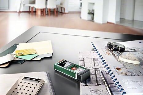 Bosch plr 15 diy digitaler laser entfernungsmesser 2x batterien aaa