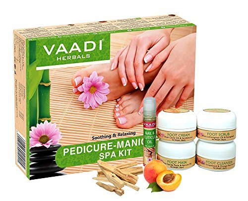 Vaadi Herbals Pedicure Manicure Spa Kit 135g
