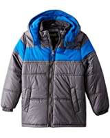 iXtreme Big Boys' Puffer Coat with Embossed Print