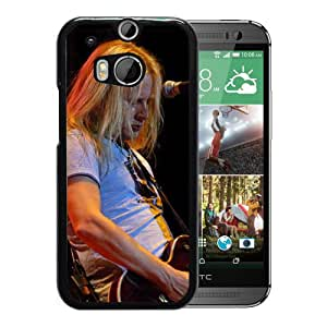 Beautiful Designed Cover Case With Jerry Cantrell Guitar Microphone Blonde Play For HTC ONE M8 Phone Case