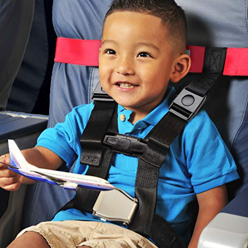 Child Airplane Safety Travel Harness, Clip Strap Safety Airplane Child Restraint System for Baby,Toddlers & Kids - Airplane Travel Accessories for Aviation Travel Use by MASCARRY (Image #6)