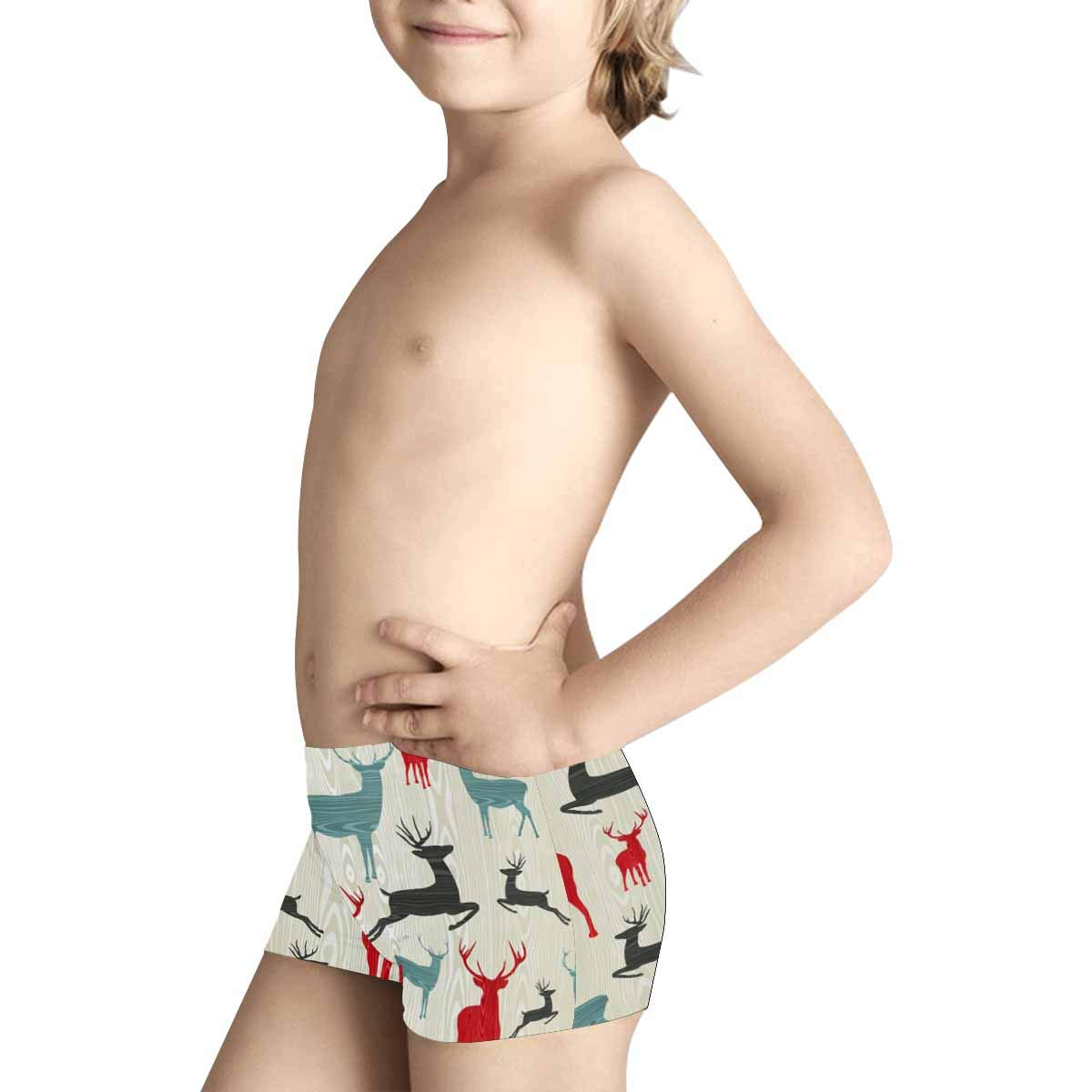 INTERESTPRINT Kids Comfortable Breathable Briefs 5T-2XL