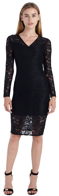 Fraiche by J Women's Lace Sheath Dress