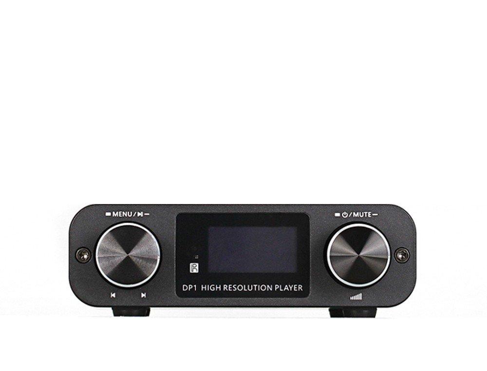 SMSL DP1 HIFI DSD プレーヤー/デジタルダイヤルDAC /ヘッドフォンアンプ B073WPGT7M