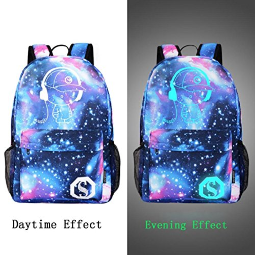 Travel Galaxy Canvas For EUzeo School Teen Girls Bag A Collection Kids Hiking Backpack qEaxRwdFa