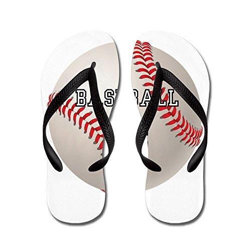 Cardinals Flip Flop - Royal Lion Men's Baseball Equals Life Black Rubber Flip Flops Sandals 10.5-12