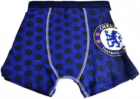 チェルシー フットボールクラブ Chelsea FC オフィシャル商品 子供用 ボクサーパンツ