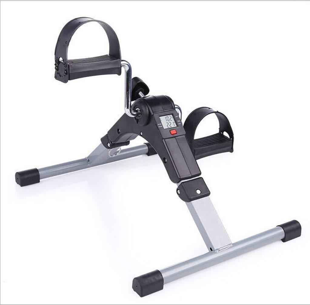 DDPP Tragbare Pedal Exerciser mit Elektronischer Anzeige (Schwarz)