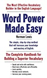 Word Power Made Easy, Norman Lewis, 110187385X