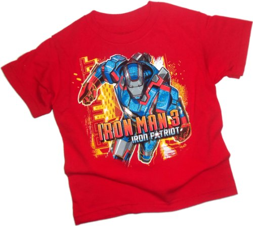Iron Patriot -- Iron Man 3 Movie Juvenile T-Shirt