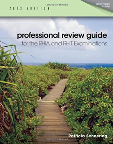 professional review guide for the rhia and rhit examinations 2013 rh amazon com rhit study guide 2018 RHIT Study Book