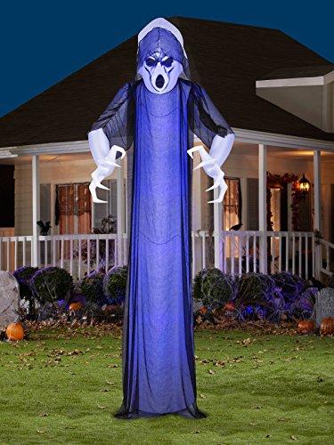 Gemmy Lightshow Short Circuit Frightened Ghost