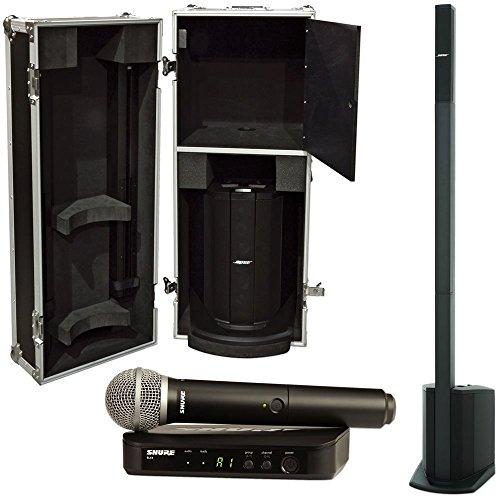 Bose L1 Compact w/ Case & Shure BLX PG58 Wireless by Bose