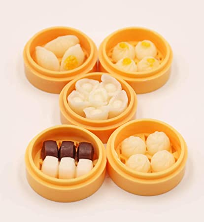 CH 5Pcs 1//12 Miniature food mini fruit drink model for dollhouse kitchen toys