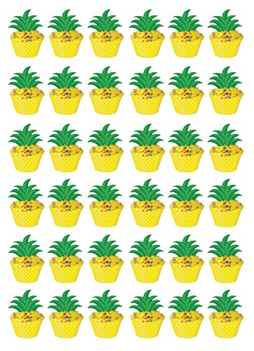 (Beistle 52326 36 Piece Pineapple Cupcake Wrappers, 8